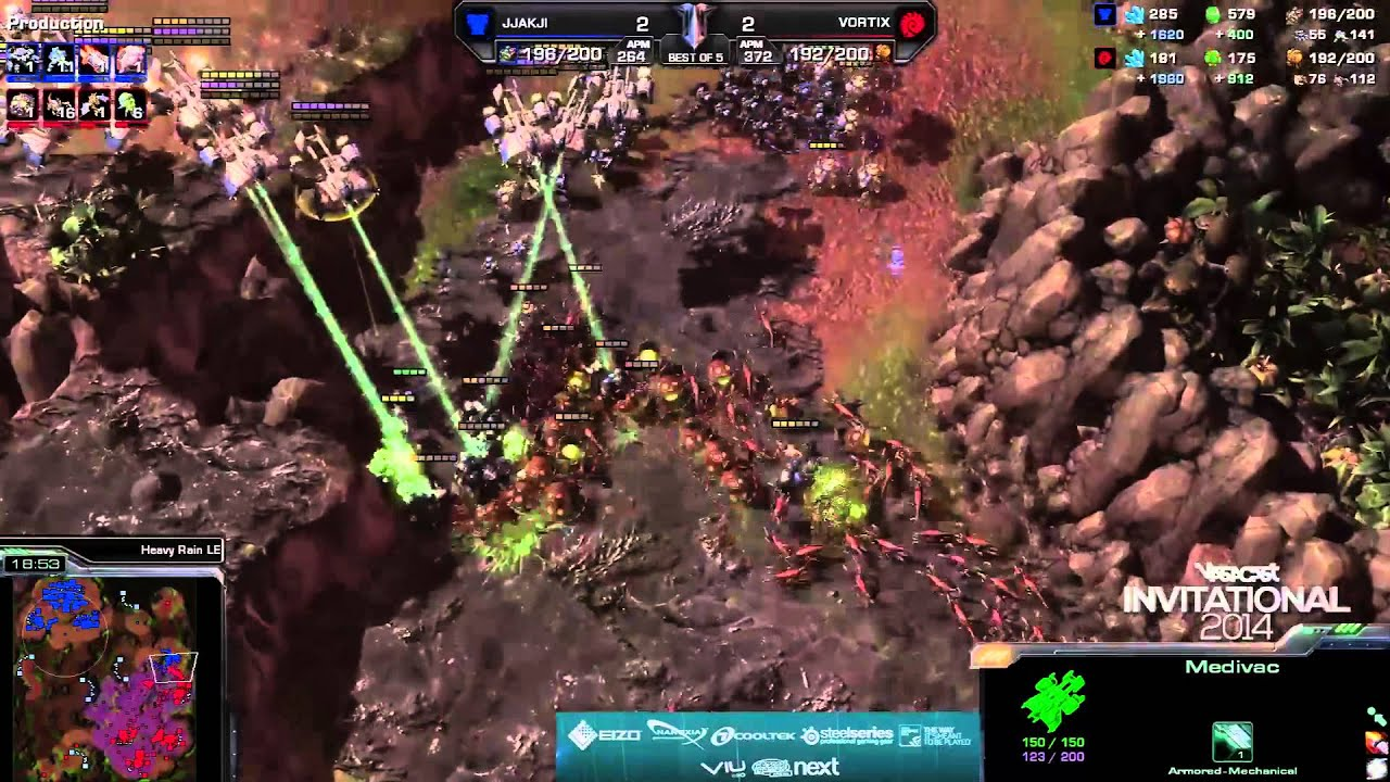 Vortix vs. JJakji - Grand Final - Game 5 - StarCraft 2