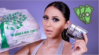 DOLLAR TREE MAKEUP CHALLENGE !