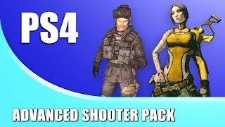 Using the ADVANCED SHOOTER PACK for PS4