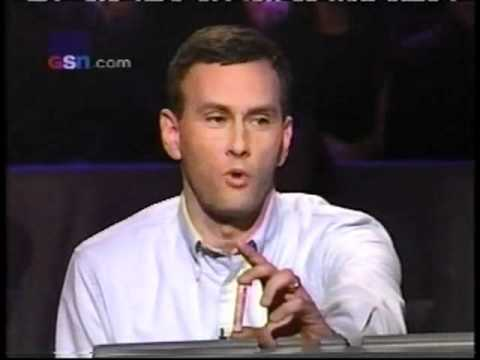 David Forman (ORIGINAL RUN) on Who Wants to be a Millionaire (FEB. 2000)