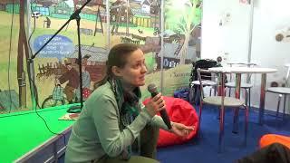 Встреча с Ниной Дашевский, часть 2. XXVI Минская международная книжная выставка-ярмарка-2019