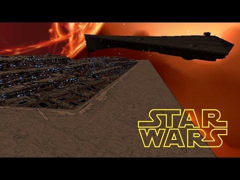 EXECUTOR STAR DREADNOUGHT vs ECLIPSE STAR DREADNOUGHT - Star Wars: Warlords