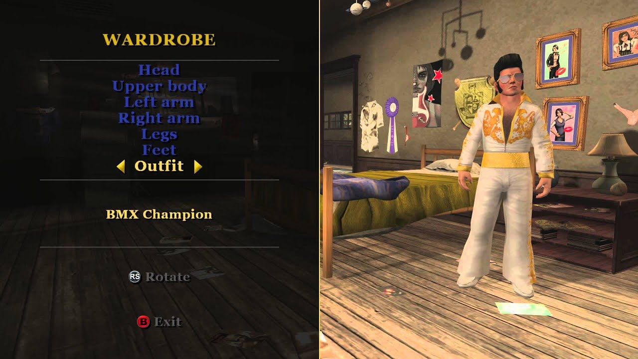 bully scholarship edition all game outfits youtube