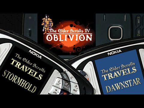 The Elder Scrolls Travels: Stormhold, Dawnstar, Oblivion — Elder Scrolls On Your Phone!
