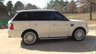 2008 LAND ROVER RANGE ROVER SPORT SUPERCHARGED AWD FOR SALE SEE WWW SUNSETMILAN COM