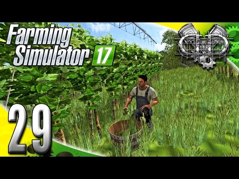 Farming Simulator 2017 Gameplay :EP29: The Great Grape Confusion! (PC HD GIANTS Island)
