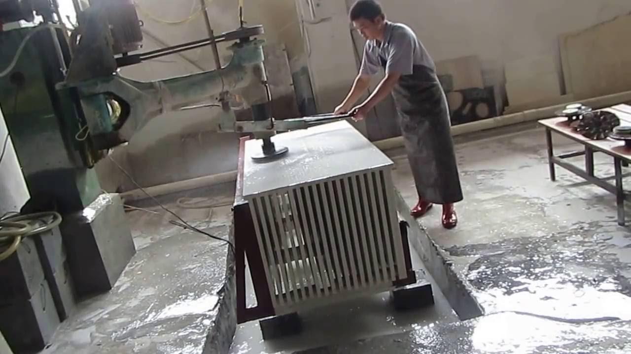 History Stone Quartz Countertops Edge Polishing Processing