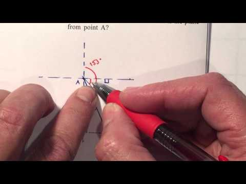 P1 Trig Unit 7 - Bearing Navigation Law of Cosines
