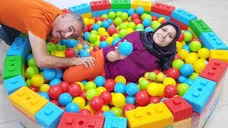 Ayşe's New Toy pool And Balls, Ayse will be very surprised