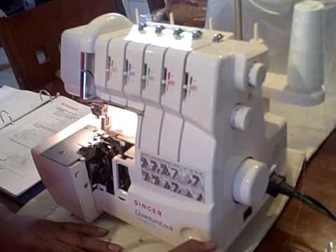 singer serger quantumlock 14t967dc patern b video 1 youtube. Black Bedroom Furniture Sets. Home Design Ideas