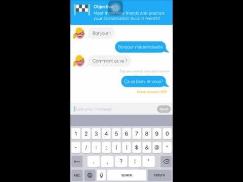 Duolingo App Chat Feature
