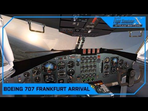 FSX Frankfurt Arrival Pan Am Boeing 707