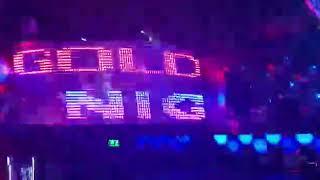 Golden girls night club dj masasi pixel led uygulama Kıbrıs Mehmet Teke