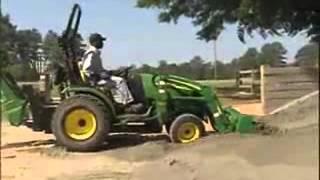 John Deere 2000 Series Compact Utility Tractors - YouTube.wmv