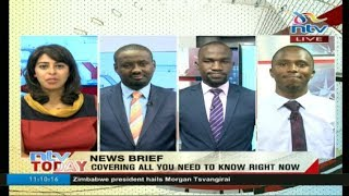 LIVE: Watch all the day's news update now on #NTVToday