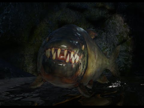 Far Cry 4 Demon Fish Flying Above Water Youtube