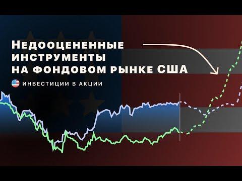 Инвестиции в акции.  Недооцененнные инструменты на фондовом рынке США