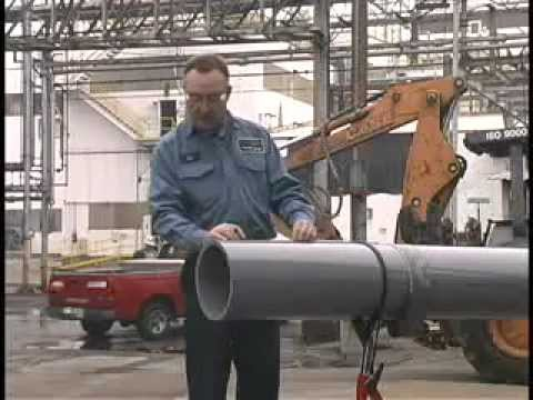 Ips Solvent Welding Plastic Pipe Video Large Diameter