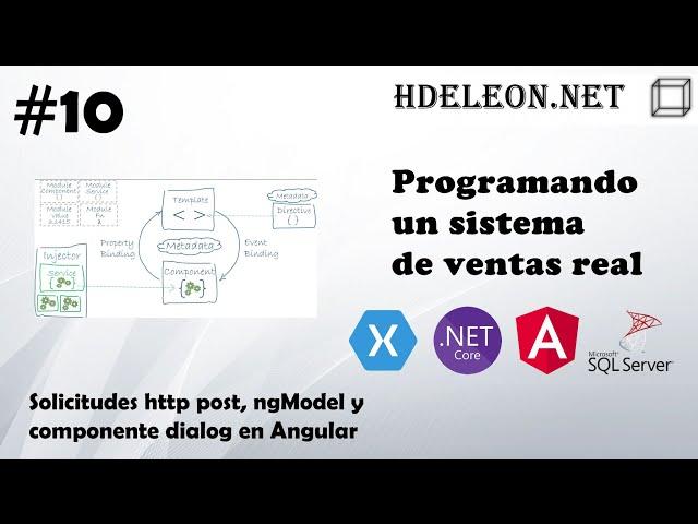 #10 Programando un sistema de ventas real | Solicitudes http post, ngModel y Dialog de Angular