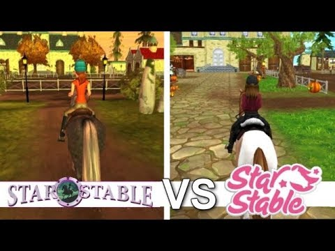 Star Stable Online VS Autumn Riders