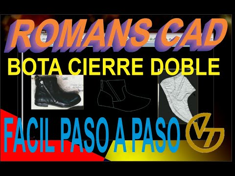 ROMANS CAD BOTA CIERRE DOBLE 2018 FULL