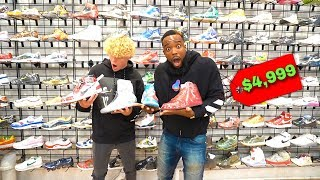 EXPENSIVE SNEAKER SHOPPING w/ TJASS IN BROOKLYN NEW YORK!