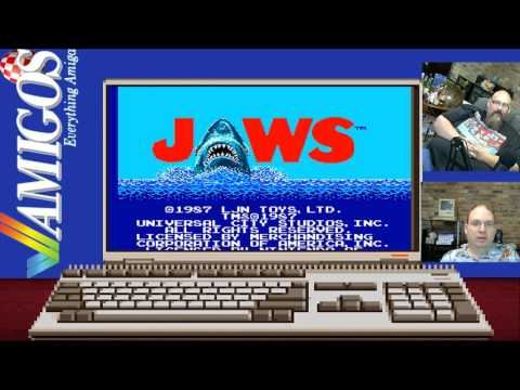 Amigos: Everything Amiga Livestream 98 - Jaws (with NES port comparison)