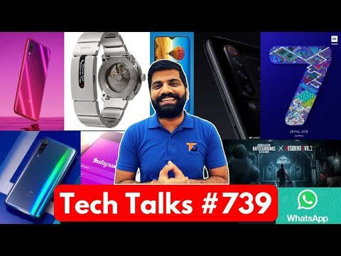 Tech Talks #739 - Redmi Note 7 Launch, Samsung M30 Price, Mi9 4 Camera,  PUBG Zombie Update