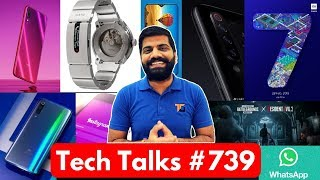 Tech Talks #739 Redmi Note 7 Launch, Samsung M30 Price, Mi9 4 Camera, PUBG Zombie Update