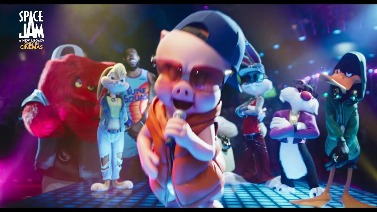 Space Jam: A New Legacy - Porky Rap Sneak Peek - YouTube