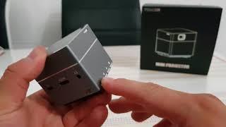 Toller Mini Beamer der Tenker Cube