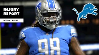 Lions Injury Report! Damon Harrison Is BACK?! Detroit Lions Talk