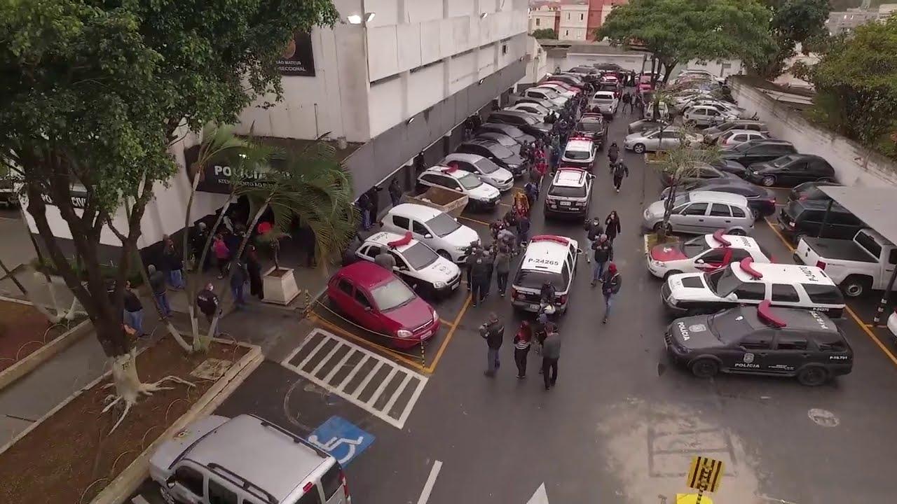 OPERAÇÃO POLICIAL #25: DECAP 8- PCSP- Delegado Dacunha- parte 1