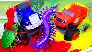Вспыш и чудо машинки: Мультики с игрушками. День храбрости! Мультфильмы для детей