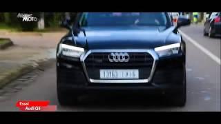 Audi Q5 & Peugeot 508 dans Auto Moto avec Wafa Assurance