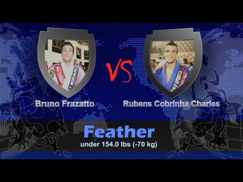 """Rubens """"Cobrinha"""" Charles VS Bruno Frazatto / World Championship 2009"""