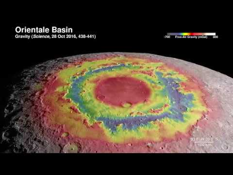 NASA Tour Of The Moon in 4K