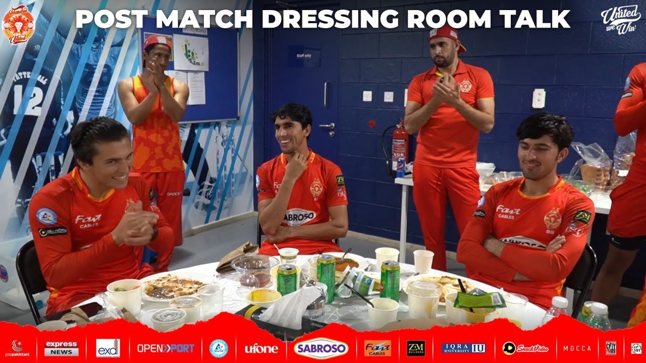 Exclusive: Never Seen Before, Post-Match Talk from the Dressing Room