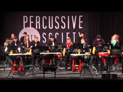Roaming by Pelham Goddard performed by the East - West Percussion Ensemble