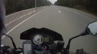 Kawasaki Z750. Top Speed. Киев. Окружная.