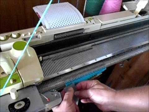 Succeeding with Tuck Stitch on a Studio or Singer knitting ...