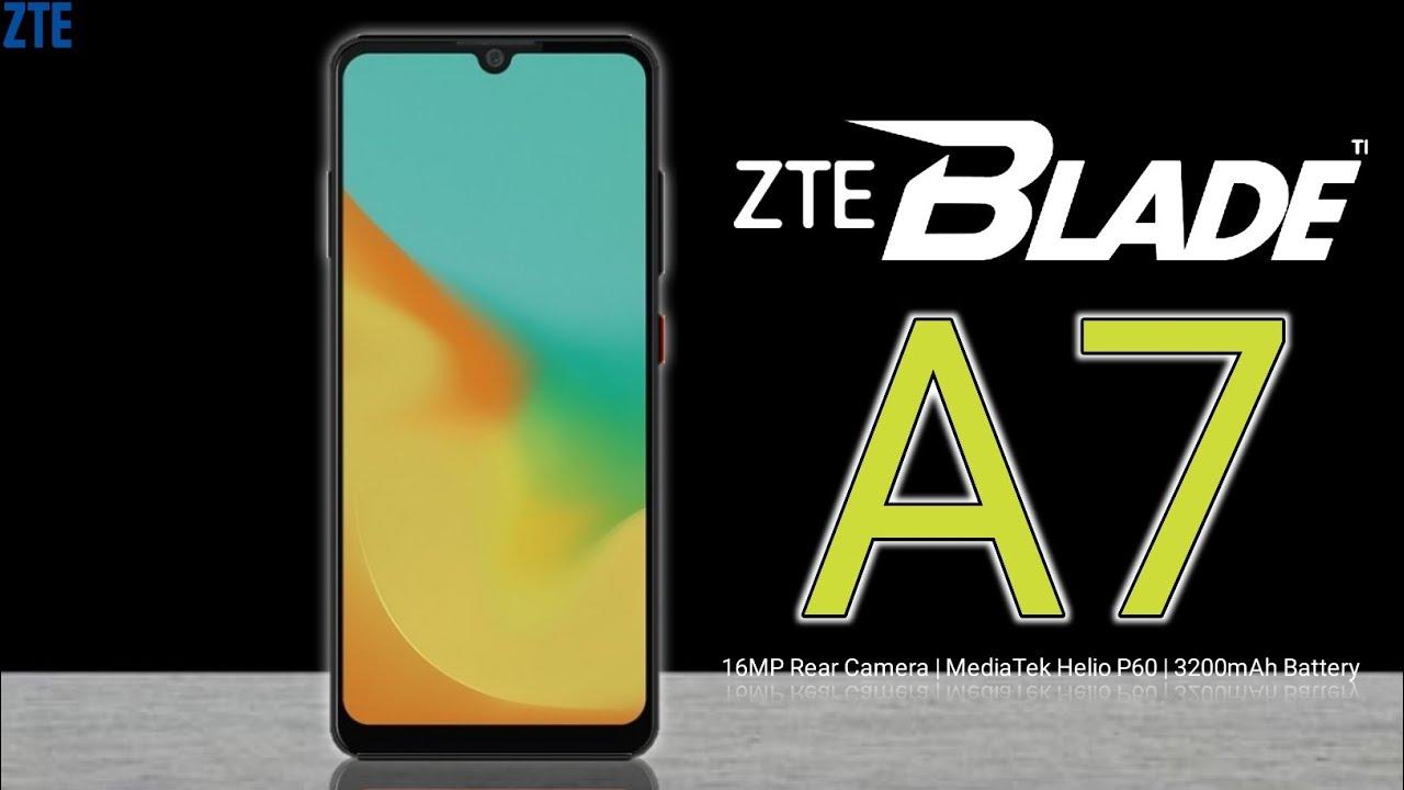 ZTE Blade A7 Info Review camera, specs