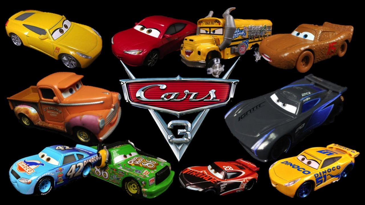 News Disney Pixar Cars 3 Toys Die Cast Mattel Images Revealed
