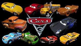 News: Disney Pixar CARS 3 Toys Die-Cast Mattel IMAGES REVEALED & Character Names