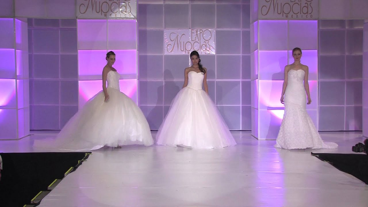 Expo Nupcias pasarela vestidos de novia por Royal Bride - YouTube