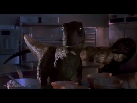 jurassic park 9 10 movie clip raptors in the kitchen 1993 hd online video cutter com youtube. Black Bedroom Furniture Sets. Home Design Ideas