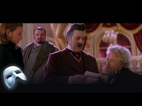 The Phantom's Note - 2004 Film | The Phantom of the Opera