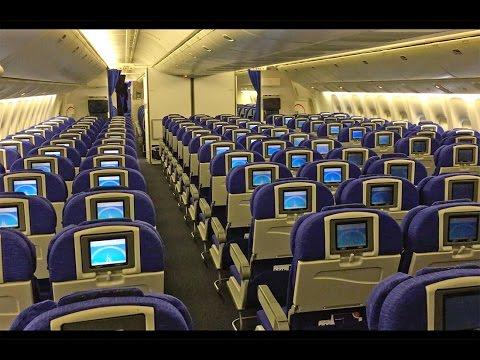British Airways Boeing 777-200 Cabin Tour and Walk Around