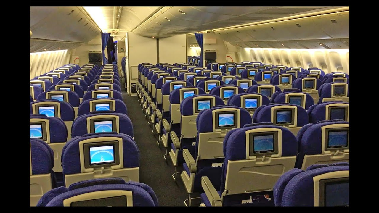 777 Interieur British Airways Boeing 777 200 Cabin Tour And Walk Around
