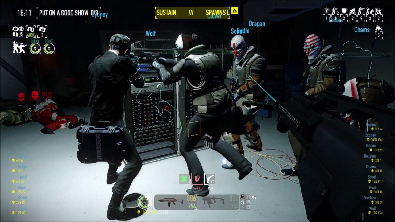 [Payday 2] Alesso Heist Love Live mod - YouTube